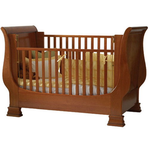 Louis Philippe Sleigh Crib  - FLOOR SAMPLE