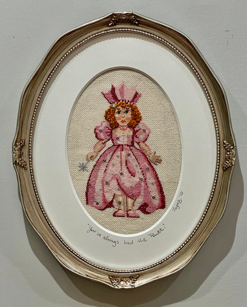Needlepoint - Glinda (large), the Wizard of Oz