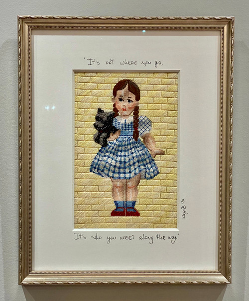 Needlepoint - Dorothy & Toto (large), the Wizard of Oz