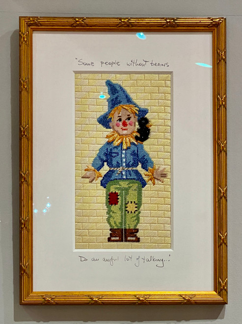 Needlepoint - Scare Crow, the Wizard of Oz