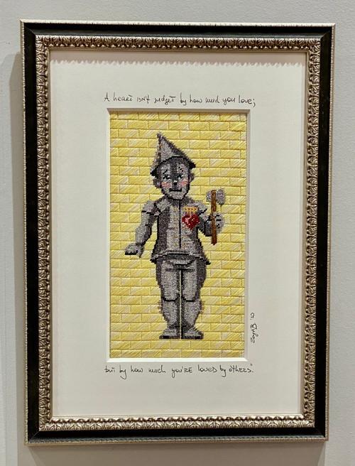 Needlepoint - Tin Man, the Wizard of Oz