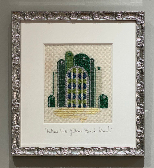 Needlepoint - Emerald City, the Wizard of Oz