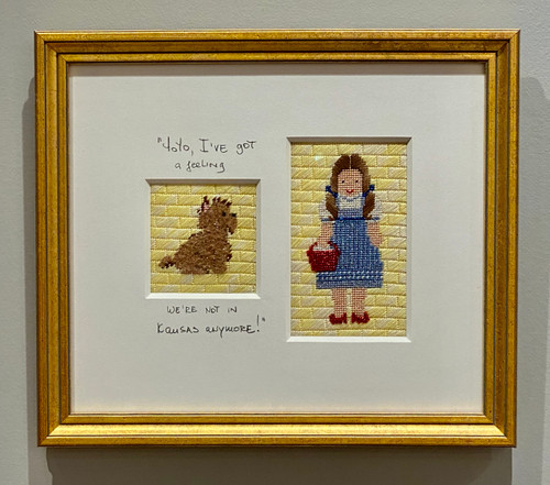 Needlepoint - Dorothy & Toto (small), the Wizard of Oz