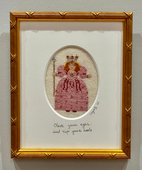 Needlepoint - Glinda (small), the Wizard of Oz