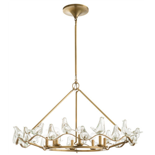 Dove Large Chandelier - Floor Sample