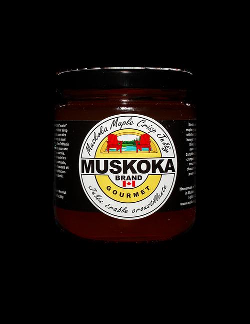 Muskoka Maple Crisp jelly made from honey crisp apples and Muskoka maple syrup!