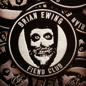 """   FIEND CLUB PATCH"" SILVER"