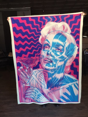 MARILYN BUBBLEGUM BLANKET