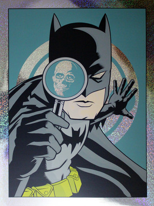 """Detective Comics #776"" BATMAN Dark Knight Colorway FOIL"