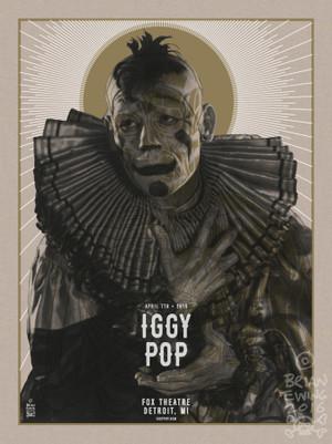 """IGGY POP!"""