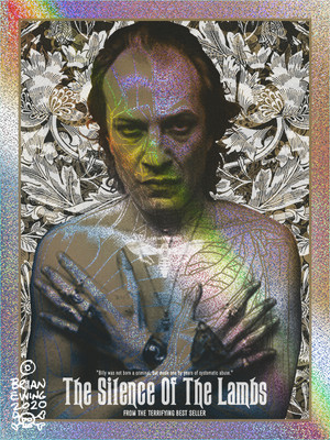 """        BUFFALO BILL"" Silence of the Lambs - GOODBYE HORSES VARIANT"