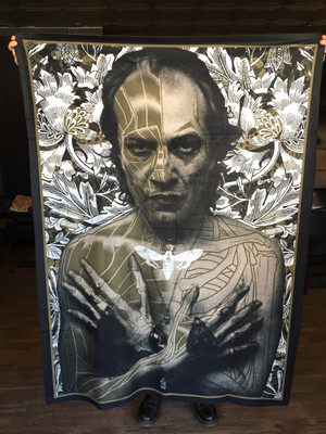 """        BUFFALO BILL"" Silence of the Lambs blanket"