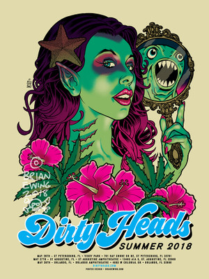 """   DIRTY HEADS"" 2018"