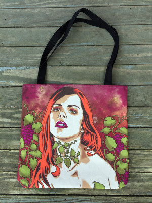 """    GRAPEVINES"" Tote Bag"