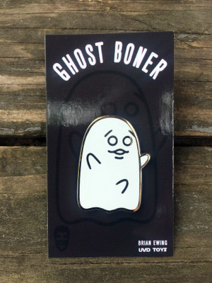 """     GHOST BONER"" ENAMEL PIN"