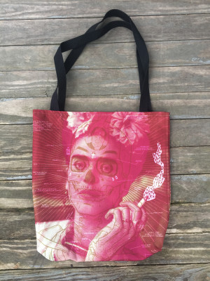 """     FRIDA KAHLO"" Tote Bag"