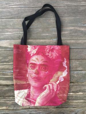 """""""     FRIDA KAHLO"""" Tote Bag"""