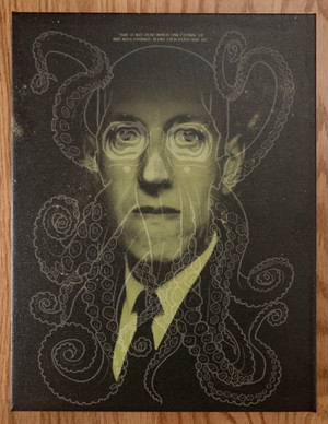 """     LOVECRAFT"" Canvas Print"