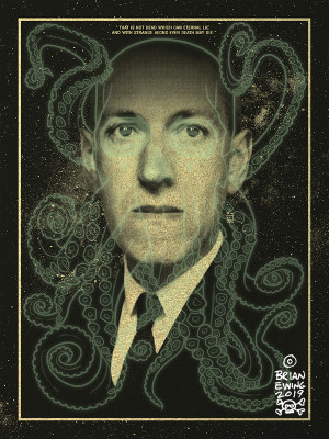 """       LOVECRAFT"" MIASMAL GOLD METALLIC PAPER"