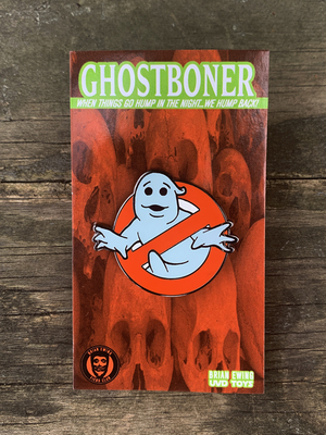 """ GHOST BONER"" erEcto Cooler ENAMEL PIN"