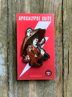 """     APOCALYPSE SUITE"" PIN UMBRELLA ACADEMY"