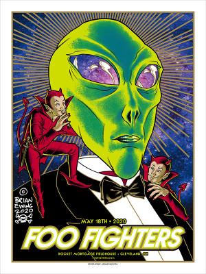 """FOO FIGHTERS"" - CLEVELAND REGULAR"