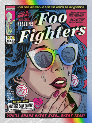 FOO FIGHTERS - CINCI RAPTURE FOIL