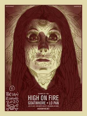 HIGH ON FIRE A/P