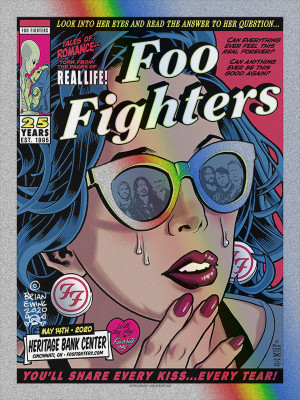FOO FIGHTERS - CINCI DOT FOIL A/P