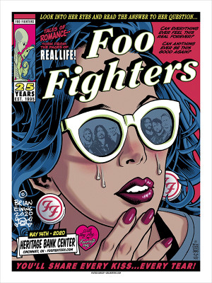 FOO FIGHTERS - CINCI REGULAR A/P