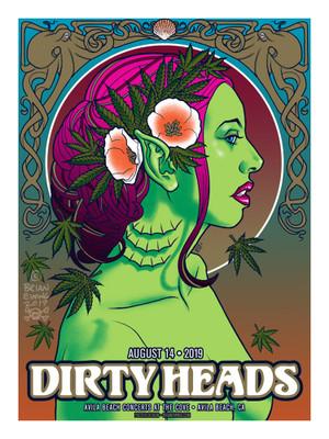 """       DIRTY HEADS"" Avila Beach ARTIST PROOF"