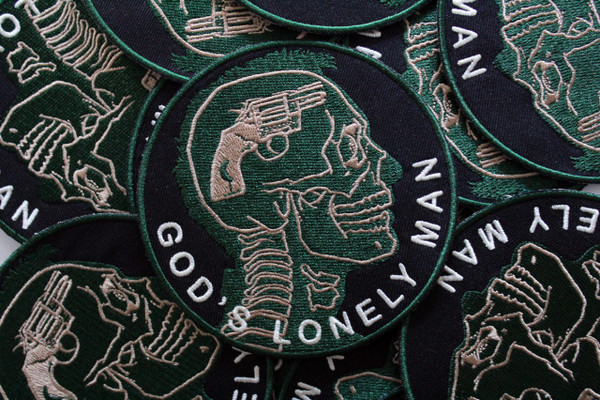 """   God's Lonely Man"" Patch"