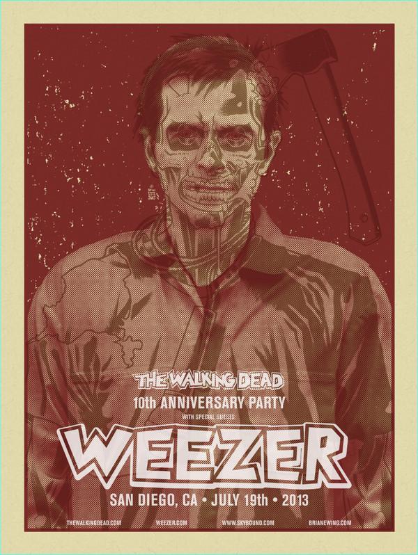 WEEZER WALKING DEAD ORIGINALS