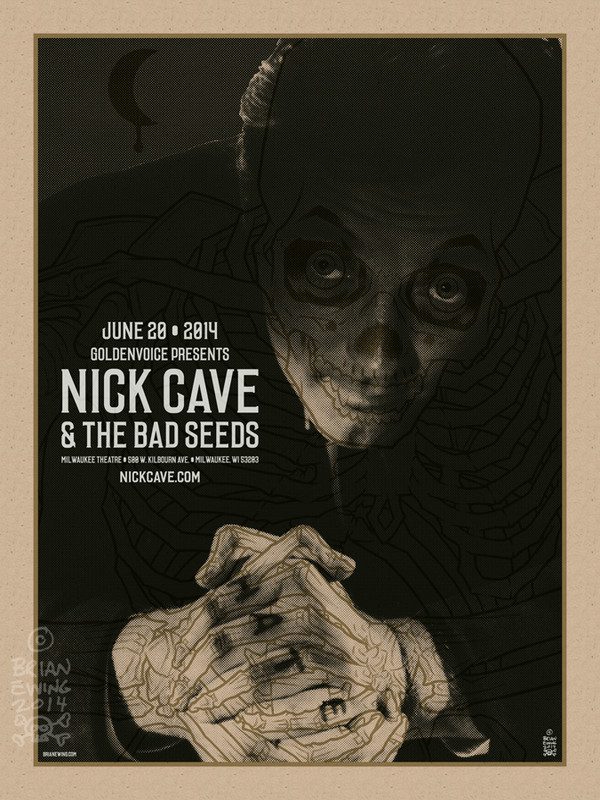 """ Nick Cave and the Bad Seeds"""