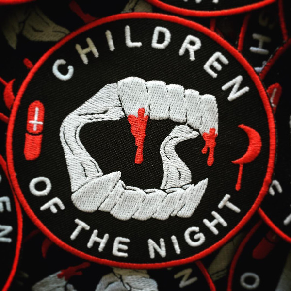 """  CHILDREN OF THE NIGHT"" PATCH"