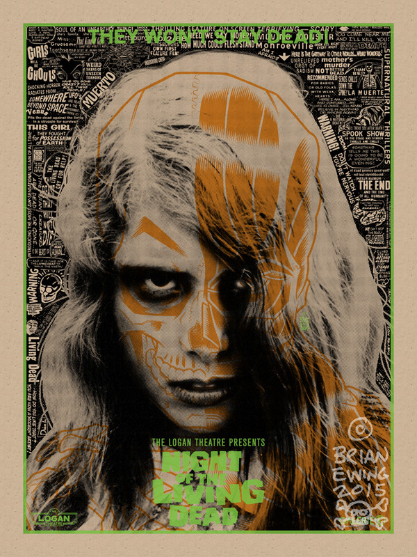"""NIGHT OF THE LIVING DEAD - HALLOWEEN 2 VARIANT AP"""
