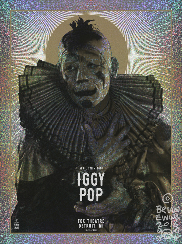 """IGGY POP FOIL regular"" AP"