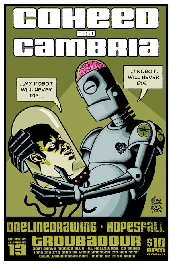 """Coheed and Cambria"""