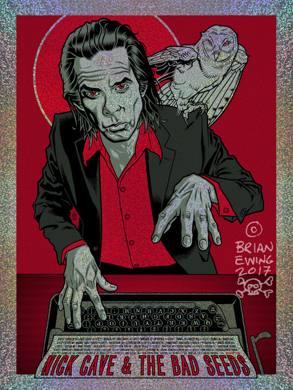 """  NICK CAVE & THE BAD SEEDS"" - FOIL A/P"
