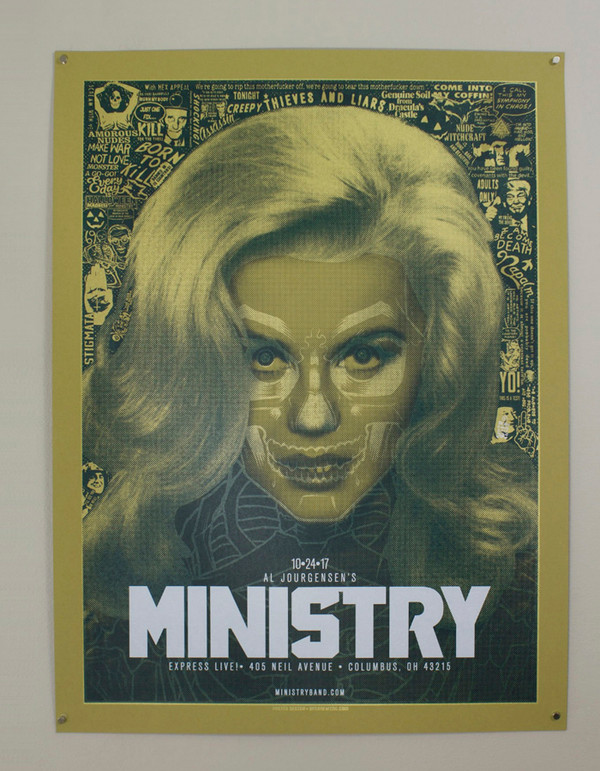 """   MINISTRY"" ORIGINAL ART"