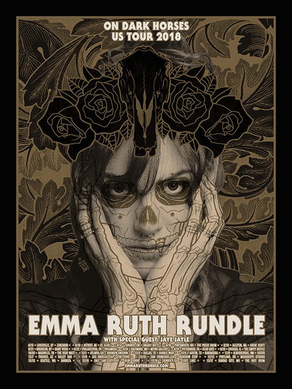 """    EMMA RUTH RUNDLE"" tour poster"