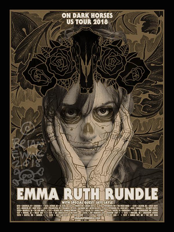 """  EMMA RUTH RUNDLE"" original art"