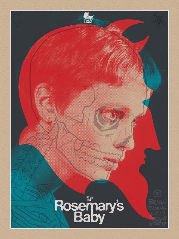 """   ROSEMARY'S BABY"" Artist Proof"