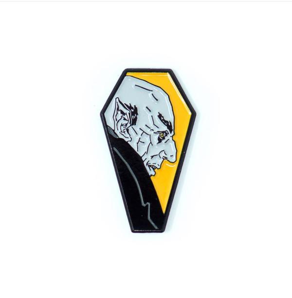 """""""   NOSFERATU"""" Halloween enamel pin"""