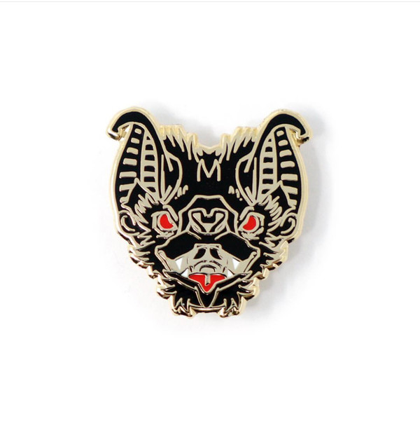 """  BAT"" MIDNIGHT enamel pin"