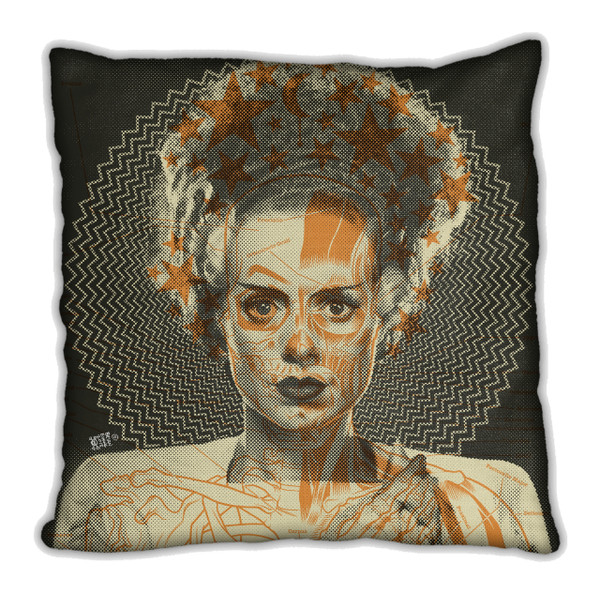 """    THE BRIDE"" pillow"