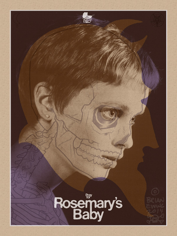 """    ROSEMARY'S BABY"" variant artist proof"