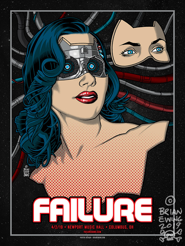 """    FAILURE"" Original Art"