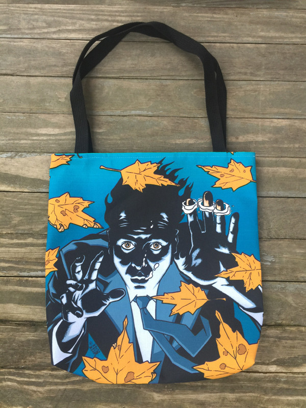 """      DON'T HOLD YOUR BREATH"" Tote Bag"
