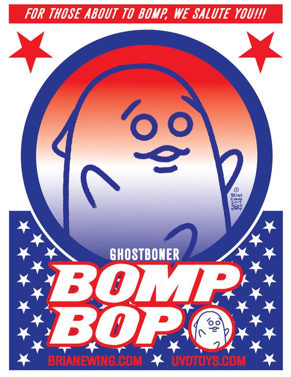 """       GHOST BONER"" BOMP BOP resin figure"